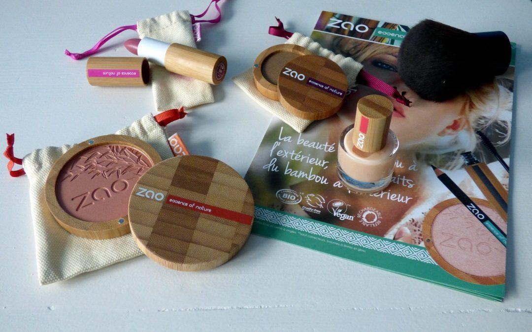 J'ai testé pour vous la marque Zao: la cosmétique 100% naturelle