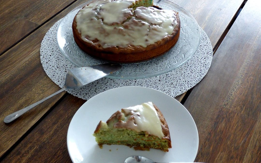 Le carrot cake (recette anglaise)