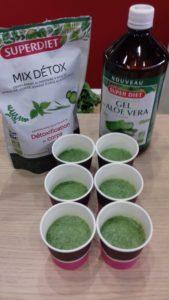 smoothie vert detox