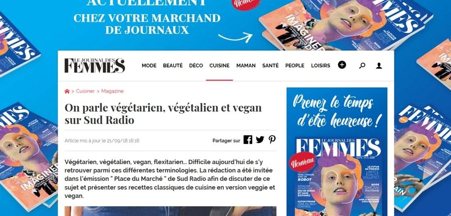 Journal des Femmes – Sept. 2018