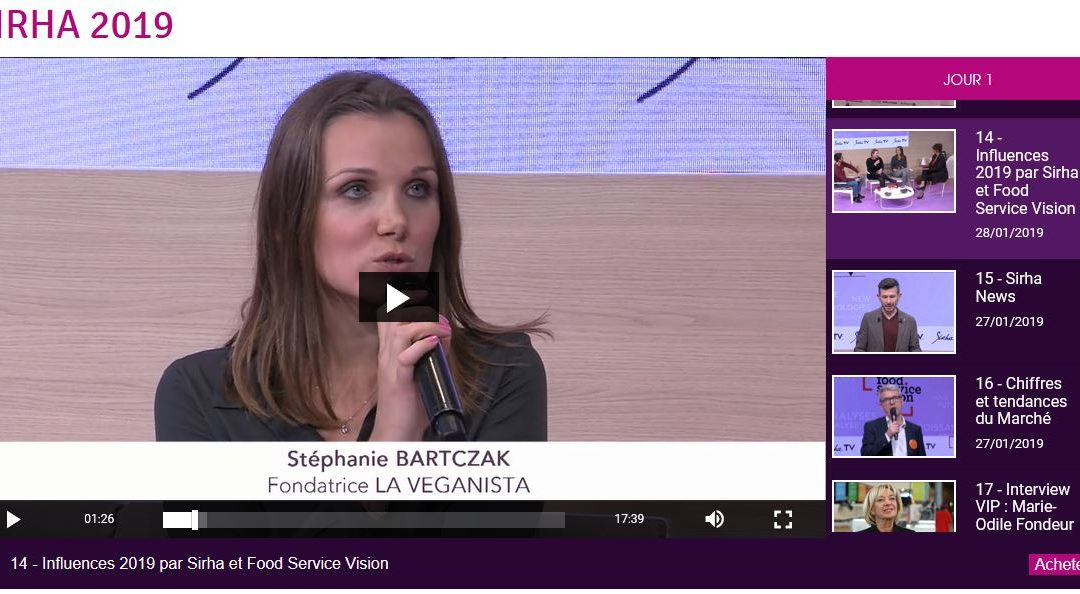 Interview SIRHA TV Lyon – 26 Janv. 2019